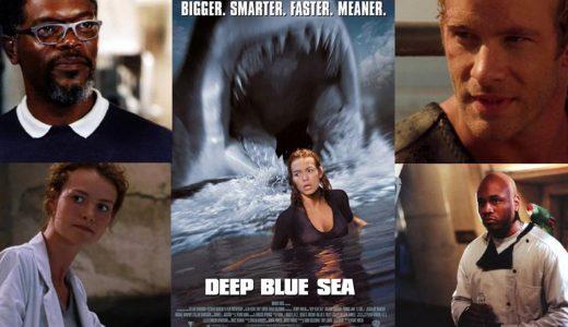 サメ映画「 ディープ・ブルー 」考察レビュー、MVPはコックさん!