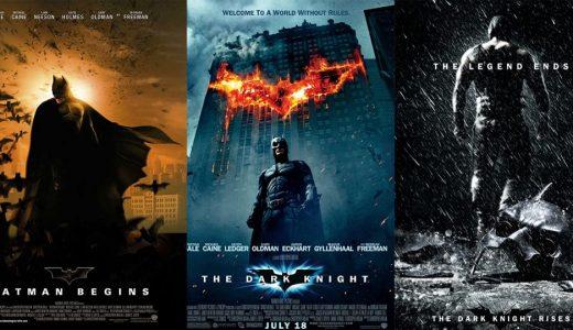D「 ダークナイトシリーズ(トリロジー)」が期間限定で映画館に帰ってくる(香港・台湾)