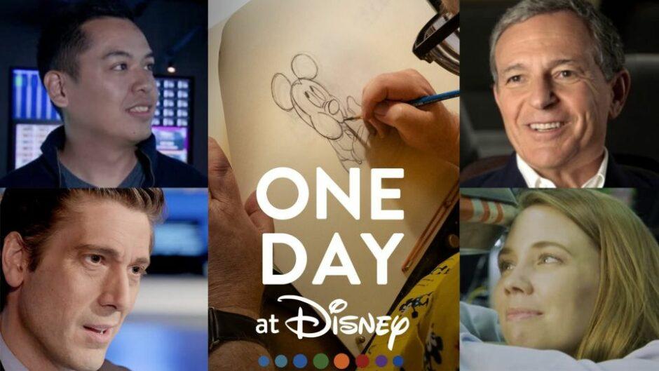 ある日 ディズニーで